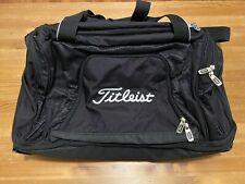 Titelist Wheeled Duffel Bag - Black