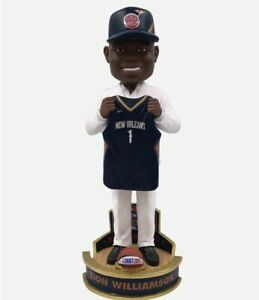 Zion Williamson (New Orleans Pelicans) NBA Draft Day Bobblehead New in box