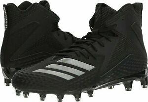 Adidas Freak X Carbon Mid MD American Football Cleats Boots Black UK 9.5 US 10