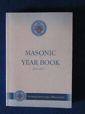 Masonic Book -Provincial Grand Lodge of Warwickshire Year Book - 2006/07