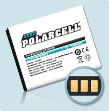 PolarCell Akku für Samsung Wave 525 GT-S5250 Wave 533 GT-S5330 EB494353VU Accu
