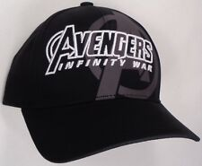 Hat Cap Marvel Comics Avengers Infinity War Black Officially Licensed CC