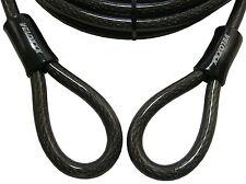 Stahlkabel 4m mit Schlaufen Stahl-Seil,Diebstahlsicherung Motorrad Boot etc./816
