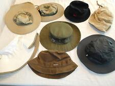 Lot of 8 REI Rain Sun Hat Cap Bucket Adult / Youth