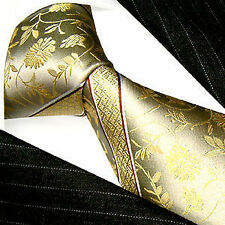 Floral 100% Silk Ties for Men
