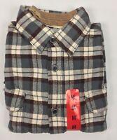 Jachs Men's Heavy Brawny Flannel Button Front Shirt 9oz Medium M Color Variety