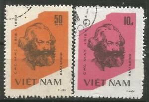 Vietnam Scott#1317-1318 (0) Karl Marx 1983