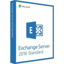 Exchange Server 2016 Standard Edition 64 Bit Complete with 250 User CAL License