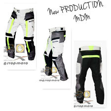 Pants motorcycle MDM 3 layers trousers pantaloni waterproof moto ->XS/44 turismo