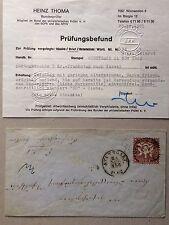Württemberg Mi.Nr. 24 als EF mit Befund Thoma