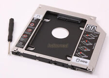 "9.5mm 2.5"" Apple Macbook Pro Unibody 2nd HDD SSD SATA Hard Drive Caddy Optibay"