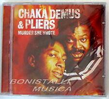 CHAKA DEMUS & PLIERS - MURDER SHE WROTE - CD Sigillato