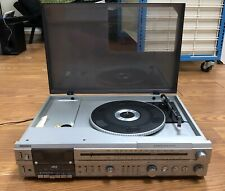 Vintage Magnavox Md 1853 Record Player Cassette Radio RARE Ships Immediately!