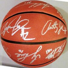 2007 2008 Atlanta Hawks Team Signed Basketball Joe Johnson Al Horford Bibby Auto