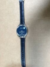 Huawei Watch 42mm Silver Stainless Steel Case  with (Generic leather band)