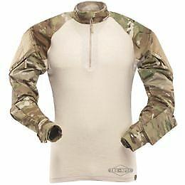 Tru-Spec TRU XTREME® Combat Shirt  Multicam 50/50 Nylon cotton Rip Stop 1/4 Zip