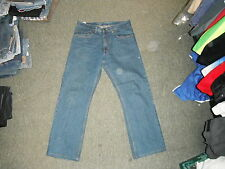 "BHS Atlantic Bay Straight Fit Jeans W 32"" Leg 28"" Faded Medium Blue Mens Jeans"