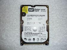 "Western Digital Scorpio Blue 40GB Internal 5400RPM 2.5"" 8MB (WD400VE-75HDT1) HDD"