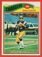 1977 Topps #274 Dan Fouts EX-EXMINT+ HOF San Diego Chargers FREE SHIPPING