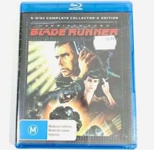 Blade Runner | Blu Ray Film | 5 Disc Collectors Edition | BRAND NEW SEALED |RARE