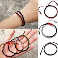 King Kong knot Couple Handmade Rope Bracelet Adjustable Jewelry Gift Party Women