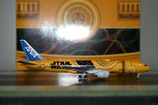 "JC Wings 1:400 ANA All Nippon Airways Boeing 777-200 JA743A ""Star Wars C3PO"""