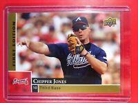 2009 Upper Deck First Edition Chipper Jones Atlanta Braves #17