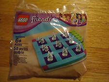 NEW LEGO FRIENDS TIC TAC TOE POLYBAG with ANIMAL MINIFIGURE SET 40265
