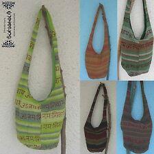 Beutel Tasche Bag Hippie Goa ethno indien nepal Mantra Om Strand Beach psy inde