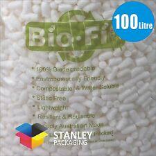 100 Litre BioFill Packing Peanuts Foam Nuts cushioning Void Loose Fill