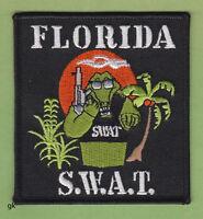 FLORIDA SWAT ALLIGATOR POLICE SHOULDER  PATCH