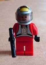 LEGO Star Wars Rebel pilota B-Wing personaggio con BLASTER PISTOLA ribelli Rosso Nuovo