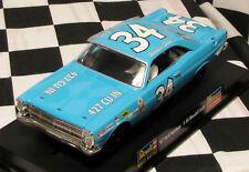 REVELL/MONOGRAM 4827  1967 FORD FAIRLANE NASCAR SCOTT  1/32 SLOT CAR
