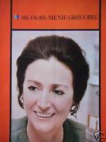 PUBLICITÉ 1970 RTL 14H.15H.16H AVEC MENIE GRÉGOIRE - ADVERTISING