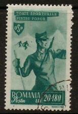 ROMANIA SG1735 1945 20L+1801  GREEN  F/USED