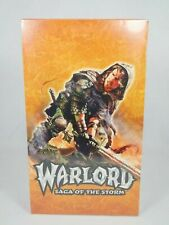 Warlord Saga Of The Storm Counter Attack Booster Box 48 Packs Factory Sealed