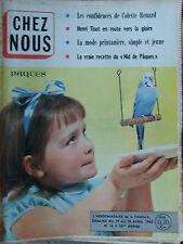 Chez Nous n°16 (19/25 avril 1962) Colette Renard- Groussard- Roman photos J Dean