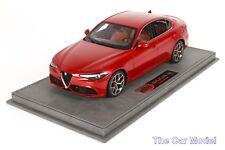In stock Alfa Romeo Giulia Veloce, Rosso Monza - Ltd 199 pcs BBR 1/18
