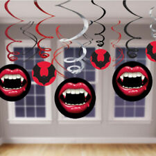 Halloween Horror Vampire Hanging Swirl Party Decorations