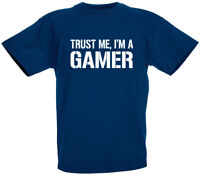 Trust Me I'm A Gamer T-Shirt, Funny Gifts for boys son teens birthday gift ideas