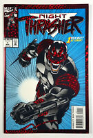 Night Thrasher #1 Crimson Embossed Holo Graphix Foil CVR (1993) Marvel Comics