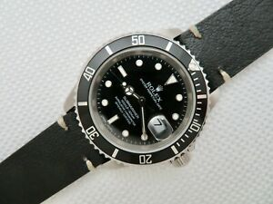 2005 Rolex Submariner 16610T No Holes Case D Serial Stainless Steel Cal.3135