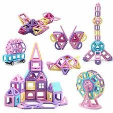 Magnetic Blocks Tiles 133pcs 3D Castle Educational Learning & Development Toys
