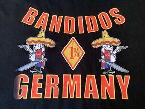 OEM Bandido MC 1% Graphic Black T-Shirt size 4XL