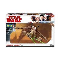 Revell 1:257 - Star Warsrepublic Gunship - Wars Force Awakens New Plastic Model