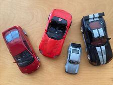 Lot of 4 Transformers Dead End, Sideswipe, Rumble Dodge Viper, Honda Civic, Nice