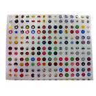 Hotsale 330pcs Love Cartoon Rubber Home Button Sticker for iPhone for ipad Decor