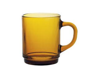 Duralex 4020DR06A1111 VERSAILLES Kaffeetasse Kaffeebecher 260ml Glas 6 Stück