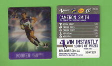 #D535. NRL 2011  MELBOURNE STORM  RUGBY LEAGUE TAZO #50  CAMERON SMITH