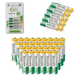 AAA Wiederaufladbare Wiederaufladbar Rechargeable Akku Battery Batterie 1350mAh